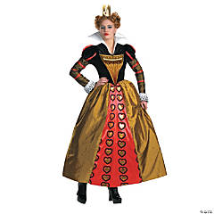 Red Queen Deluxe Adult Women's Costume