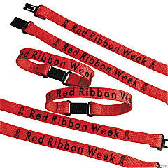 Red Ribbon Week Friendship Bracelets