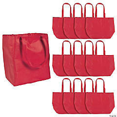 Red Shopper Tote Bags
