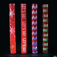 Red Spirit Light-Up Batons