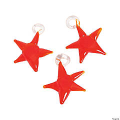 Red Star Premium Glass Charms