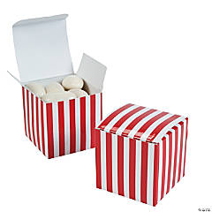 Red Striped Gift Boxes