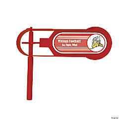 Red Team Spirit Custom Photo Giant Noisemakers