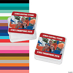 Red Team Spirit Custom Photo Square Containers