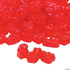 Red Teddy Bears Gummy Candy