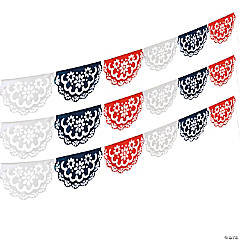 Red, White & Blue Cutout Banner