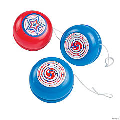 Red, White & Blue Yo-Yos