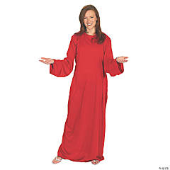 Red Wise Man Adult Robe