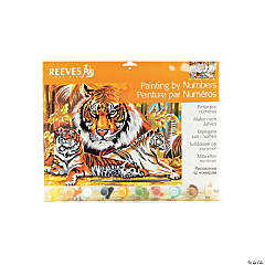 Reeves Paint By Numbers Tigers