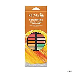 Reeves Soft Pastel Half Sticks Set of 32