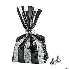 Referee Striped Cellophane Bags