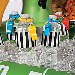 Referee Water Bottle Favor Idea with Free Printable