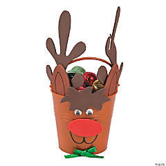 Reindeer Bucket Craft Kit