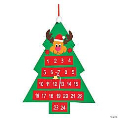 Reindeer Christmas Countdown Calendar