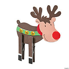 Reindeer Clothespin Craft Kit
