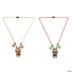 Reindeer Face Necklace Craft Kit