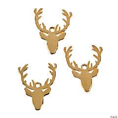 Reindeer Head Charms