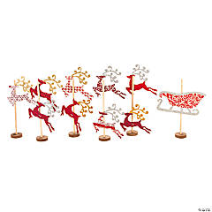 Reindeer Mantel Display Craft Kit