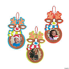 Reindeer Picture Frame Ornament Craft Kit