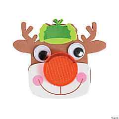 Reindeer Reflector Pin Craft Kit