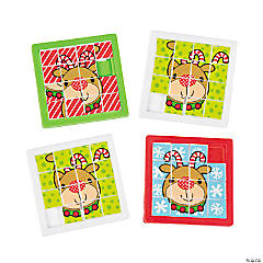 Reindeer Slide Puzzles