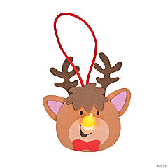Reindeer Tea Light Ornament Craft Kit