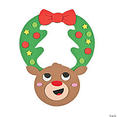 Reindeer Wreath Door Hanger Craft Kit