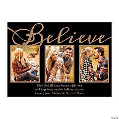 Religious Believe Custom Photo Christmas Cards