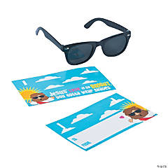 Religious Cards with Sunglasses