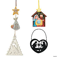 Religious Christmas Ornament Assortment