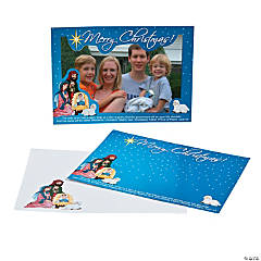 Religious Christmas Picture Frame Cards