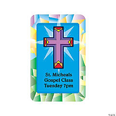 Religious Cross Notepad Sticker
