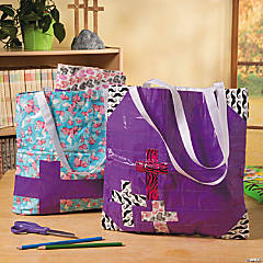 Religious Duck Tape Tote Idea