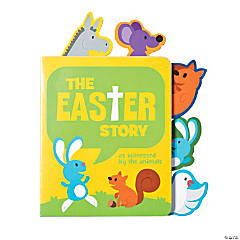 Religious Easter Animal Mini Board Books