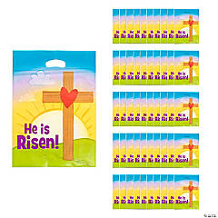 Religious party supplies christian party favors religious themed religious easter goody bags negle Choice Image