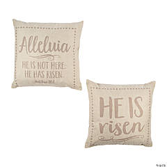 Religious Easter Pillows