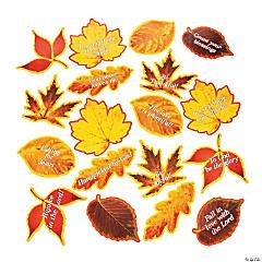 Religious Fall Leaf Cutouts