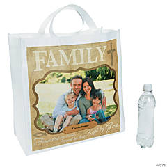 Religious Family Custom Photo Tote