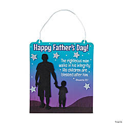 Religious Father's Day Sign Craft Kit