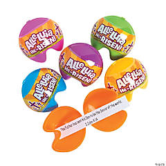 Religious Fortune Cookie Easter Eggs - 12 Pc.
