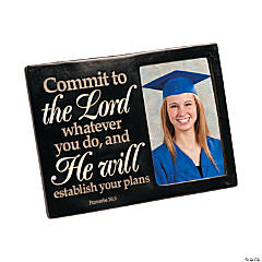 Religious Graduation Picture Frame