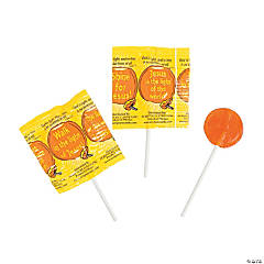 Religious Harvest Lollipops