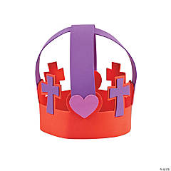 Religious Heart Crown Craft Kit