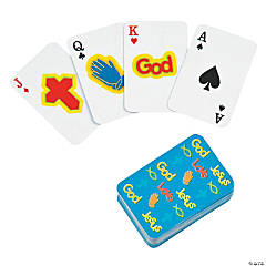 Religious Mini Playing Cards