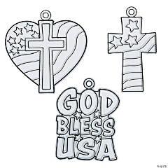 Religious Patriotic Suncatchers