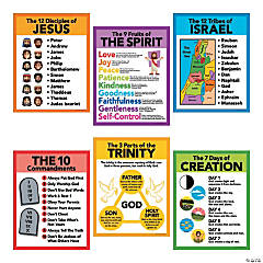 Religious Pledge Poster Set