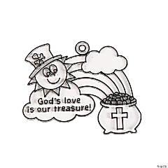 Religious St. Patrick's Day Suncatchers