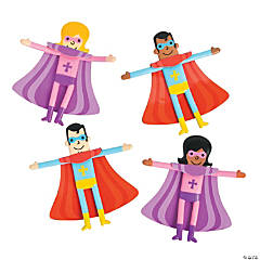 Religious Superhero Bendables