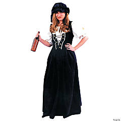 Renaissance Skirt & Hat Set Adult Women's Costume