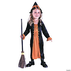 Renaissance Witch Toddler Girl's Costume